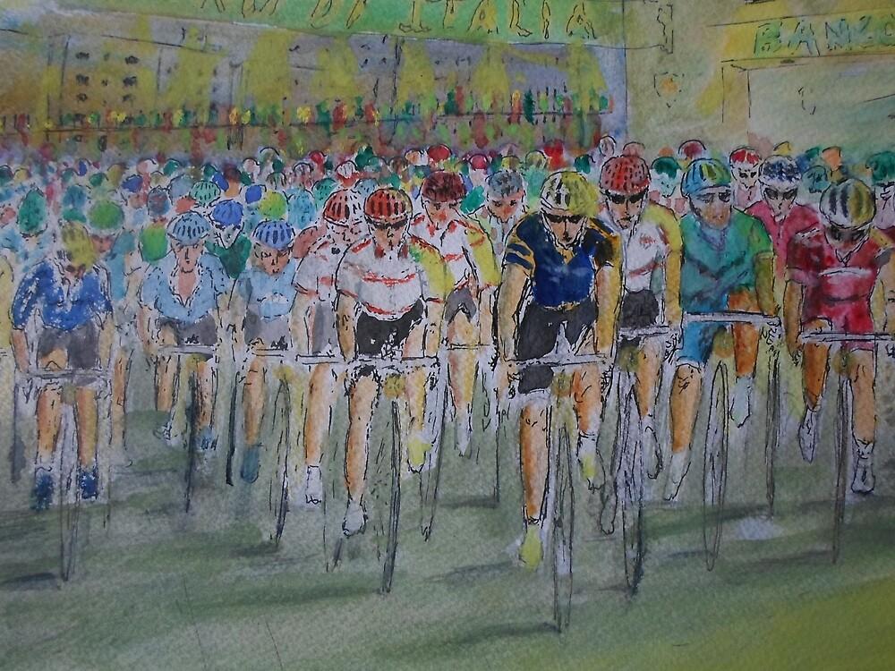 La Tour de Italia by Beswickian