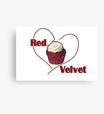 Red Velvet Cupcake Canvas Print