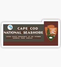 Cape Cod National Seashore sign Sticker