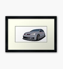 MK7 GTi Framed Print