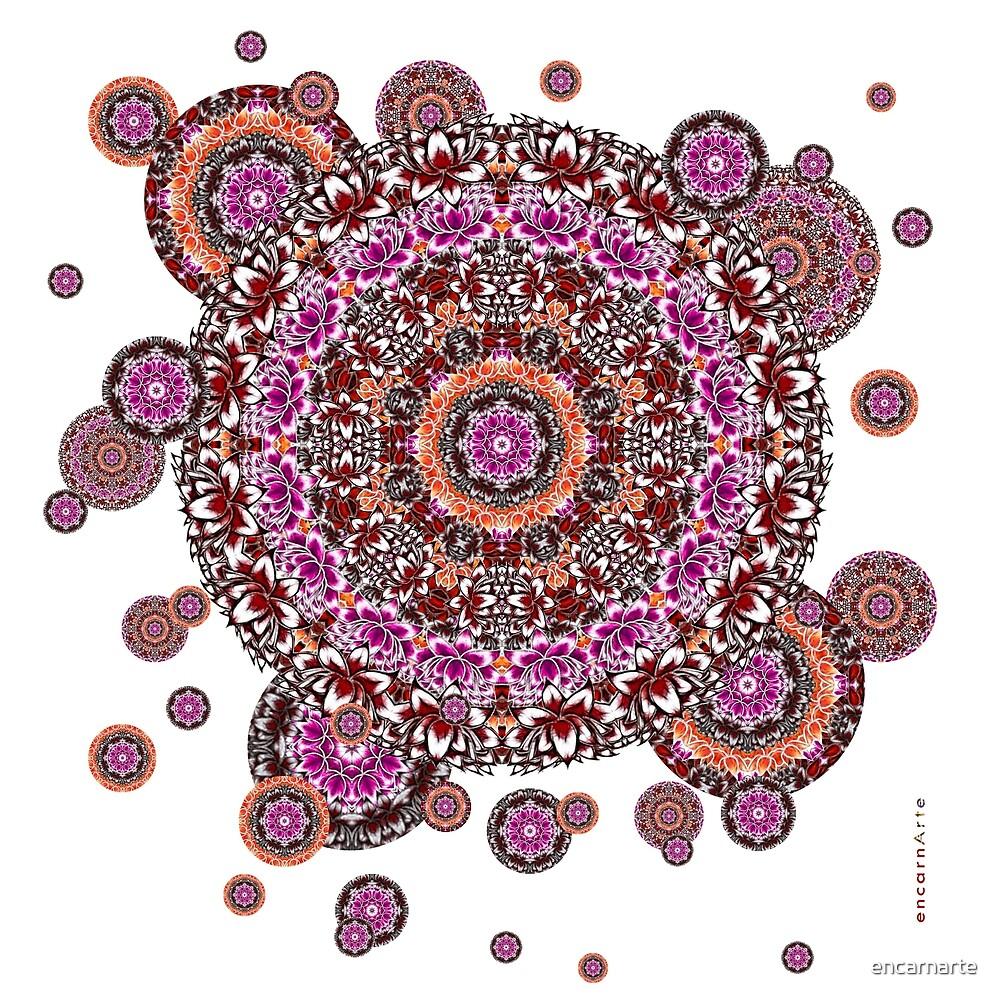 Violet Mandala by encarnarte