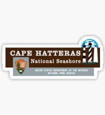 Cape Hatteras National Seashore sign Sticker