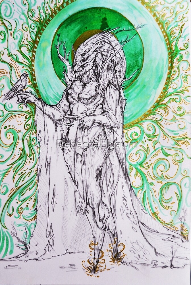Dryad's Queen by RebeccaElysium