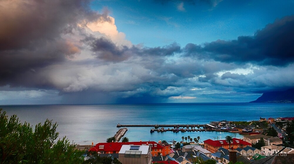 Kalk Bay Harbour by James  Luccarda