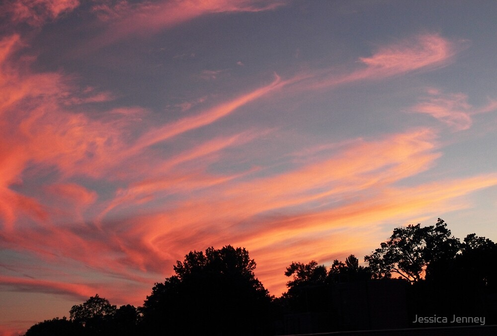 Sunset Swirl by Jessica Jenney