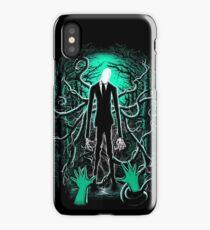 Slender Man 01 iPhone Case