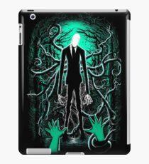Slender Man 01 iPad Case/Skin