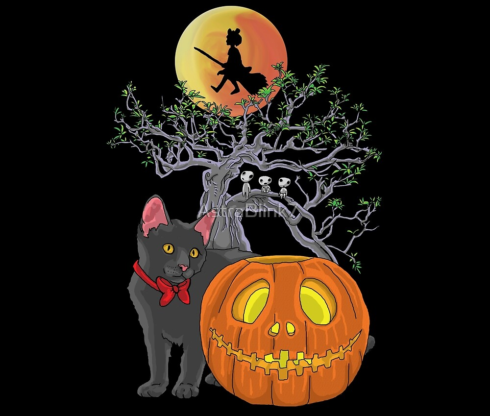 Cat Halloween by AstraBlink7