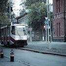Tram in Tomsk by samsheff