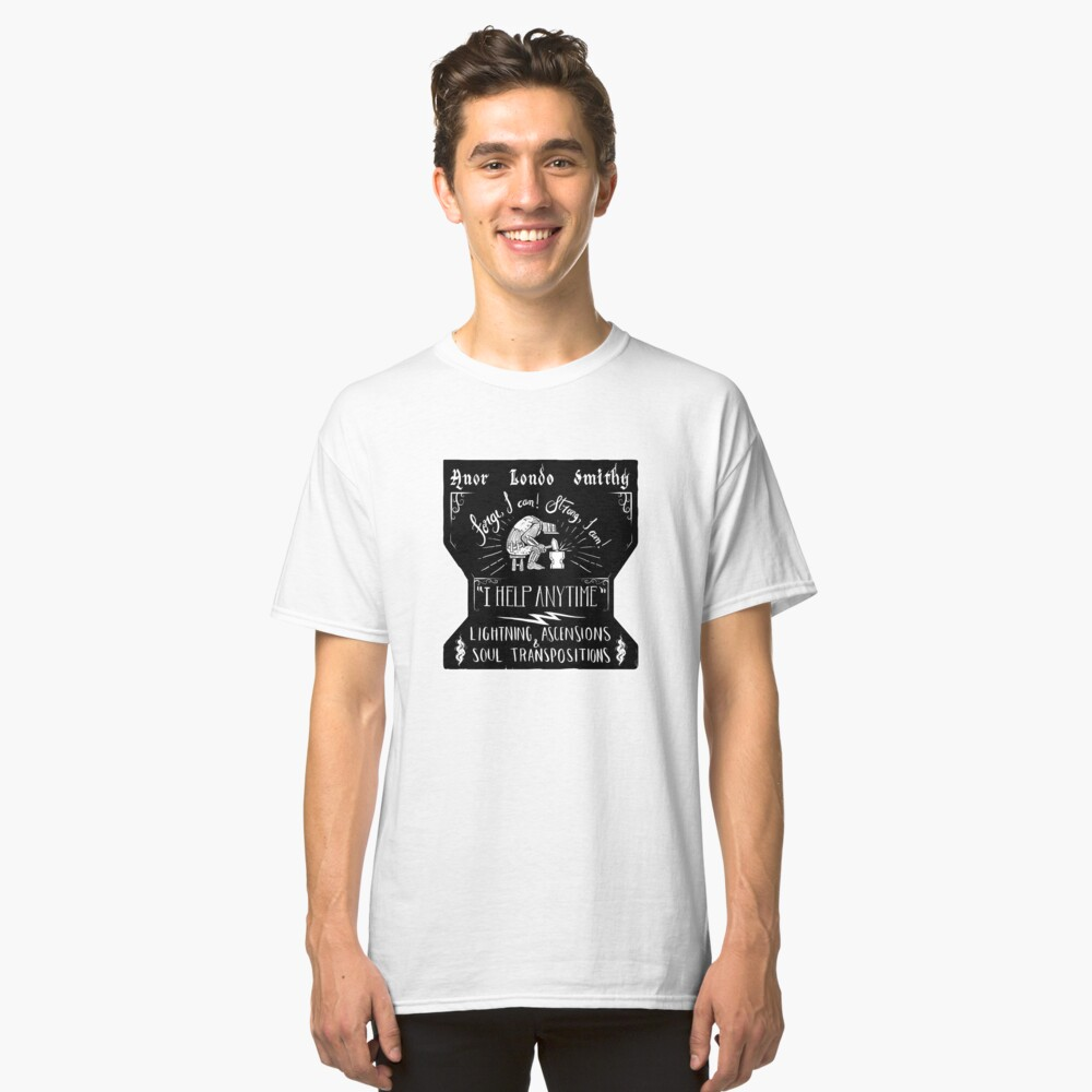 Anor Londo Smithy Classic T-Shirt Front