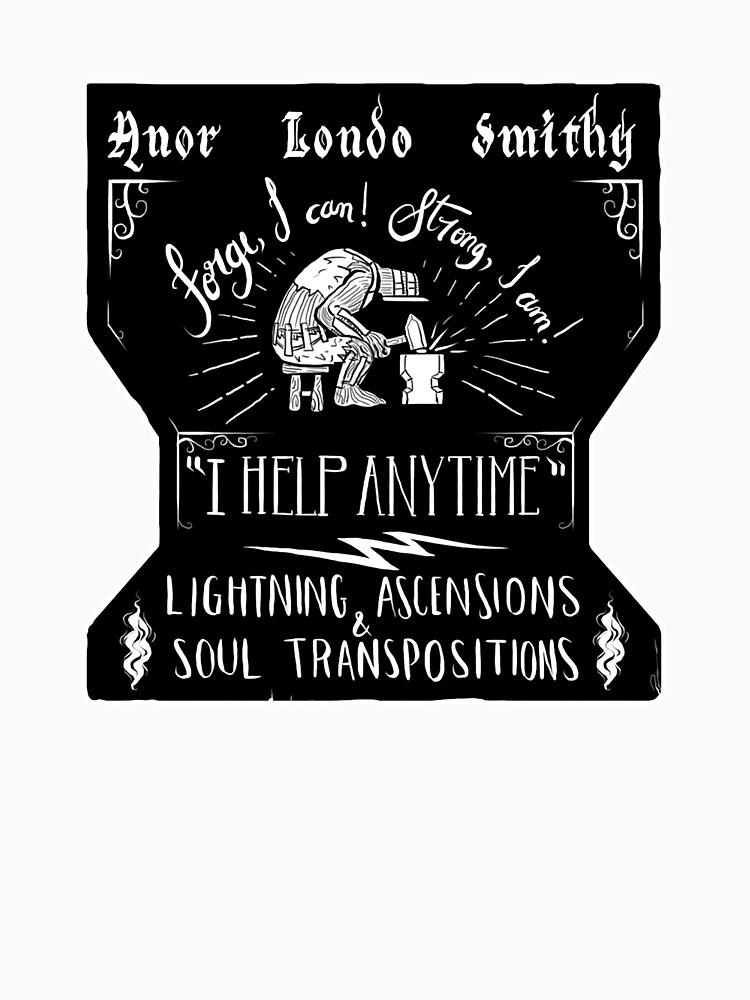 Anor Londo Smithy by matleirasx