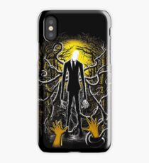 Slender Man 02 iPhone Case