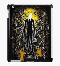 Slender Man 02 iPad Case/Skin