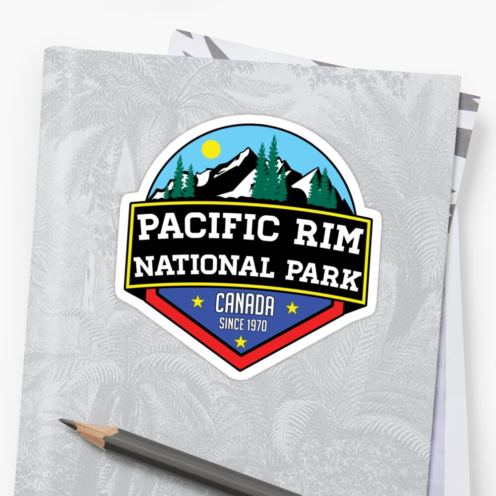 PACIFIC RIM NATIONAL PARK BRITISH COLUMBIA CANADA Skiing Ski Mountain Mountains Snowboard Boating Hiking by MyHandmadeSigns