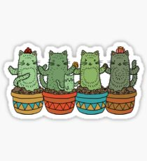 Catcus Garden Sticker