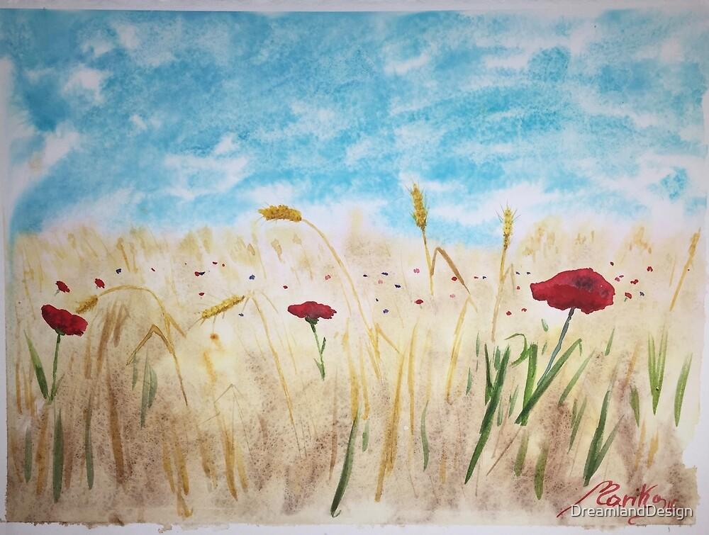 Summer Fields by DreamlandDesign