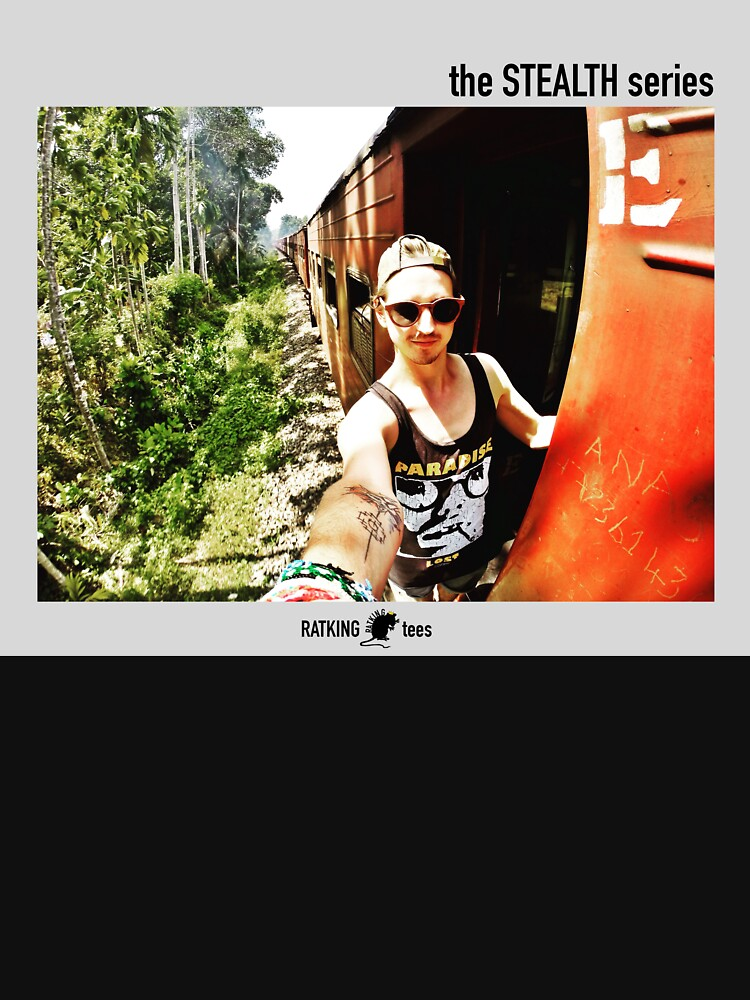 train ridin' by RATKINGtees