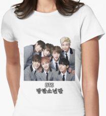 BTS Bangtan Boys Women's Fitted T-Shirt