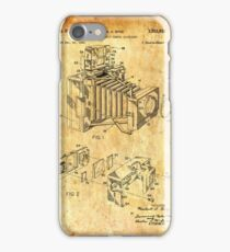 Patent Image - Camera 1 - Ancient Canvas iPhone Case/Skin