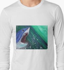 Great White Gauntlet Long Sleeve T-Shirt