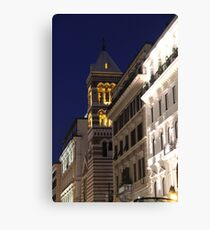 Architecture italienne Canvas Print
