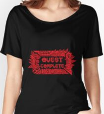 Monster Hunter Quest Complete Women's Relaxed Fit T-Shirt