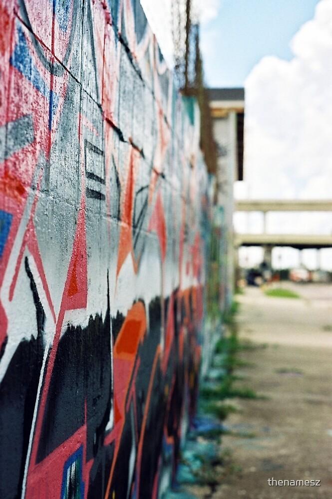 Graffiti Wall by thenamesz