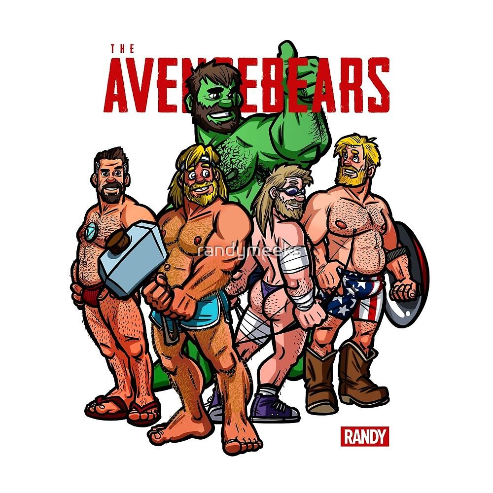 Randy's Avengebears by randymeeks