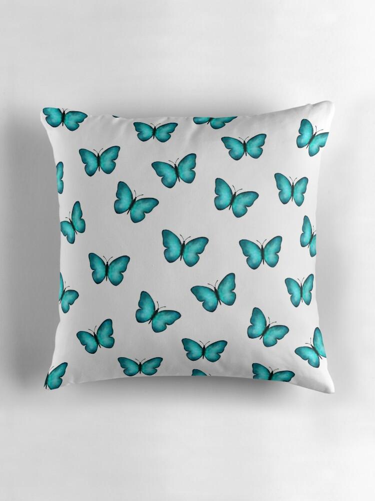 Moderno Mariposa Azul Morfo Enmarcado Friso - Ideas para Decorar con ...