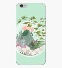 Round Terrarium iPhone Case