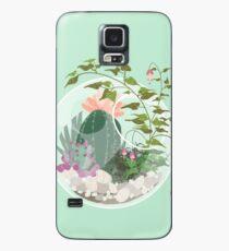 Rundes Terrarium Hülle & Klebefolie für Samsung Galaxy