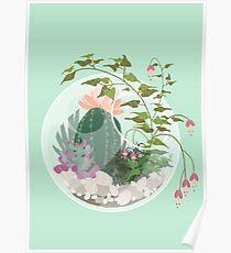 Rundes Terrarium Poster