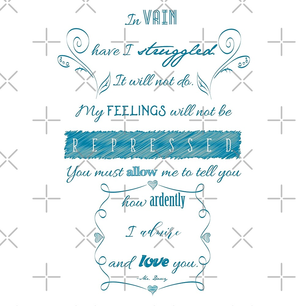 Pride and Prejudice Quote by DoodleHeadDee
