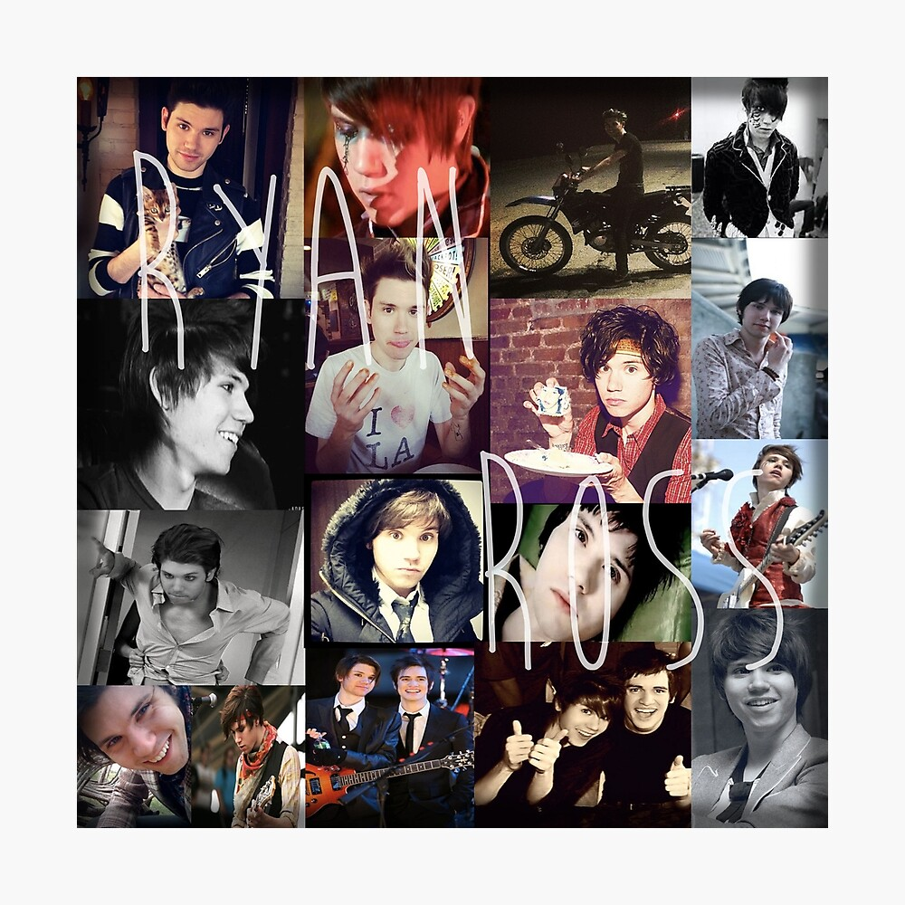 Ryan Ross collage collection n__n Fotodruck