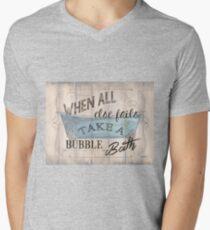 When All Else Fails... Mens V-Neck T-Shirt