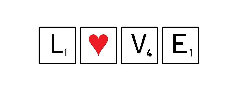 Love Scrabble : Acceptable words by Manara