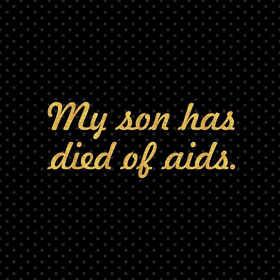 """My son has died of aids... """"Nelson Mandela"""" Inspirational Quote (Square) by Powerofwordss"""