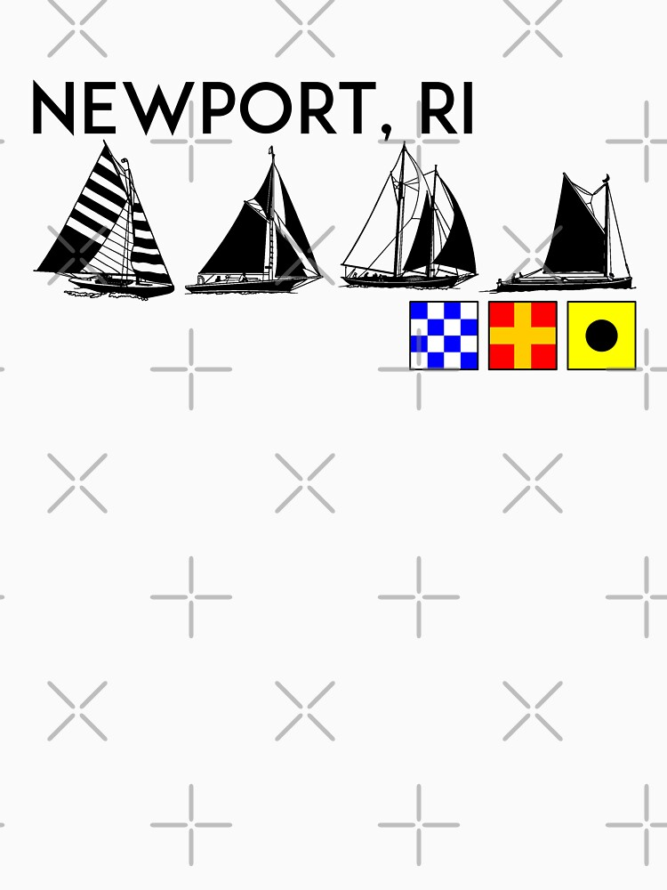 NEWPORT RHODE ISLAND SAILING YACHTING NAUTICAL FLAGS SAIL BOAT YACHT  by MyHandmadeSigns