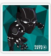 Black Panther Chibi Sticker