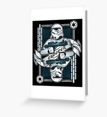 Trooper Greeting Card