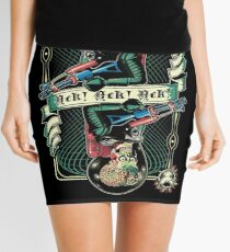 We Come in Peace Mini Skirt