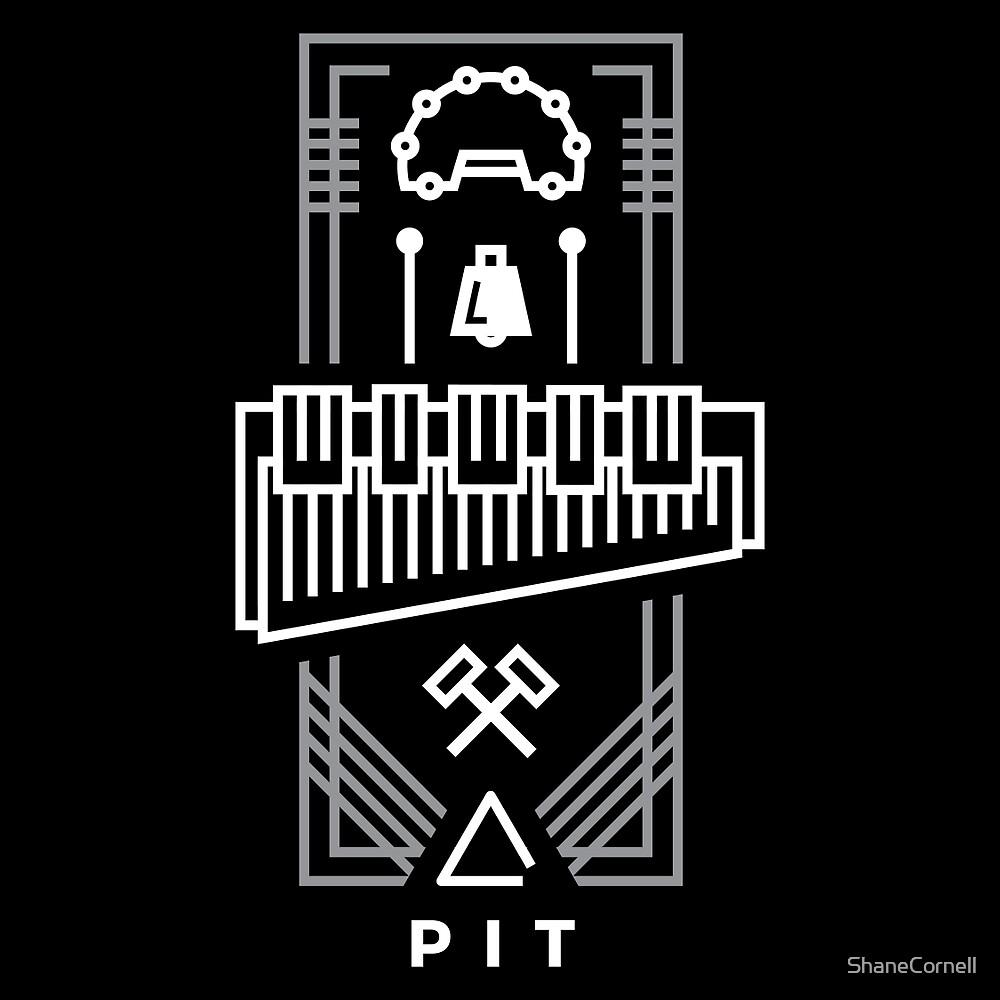 Pit - White & Gray by ShaneCornell