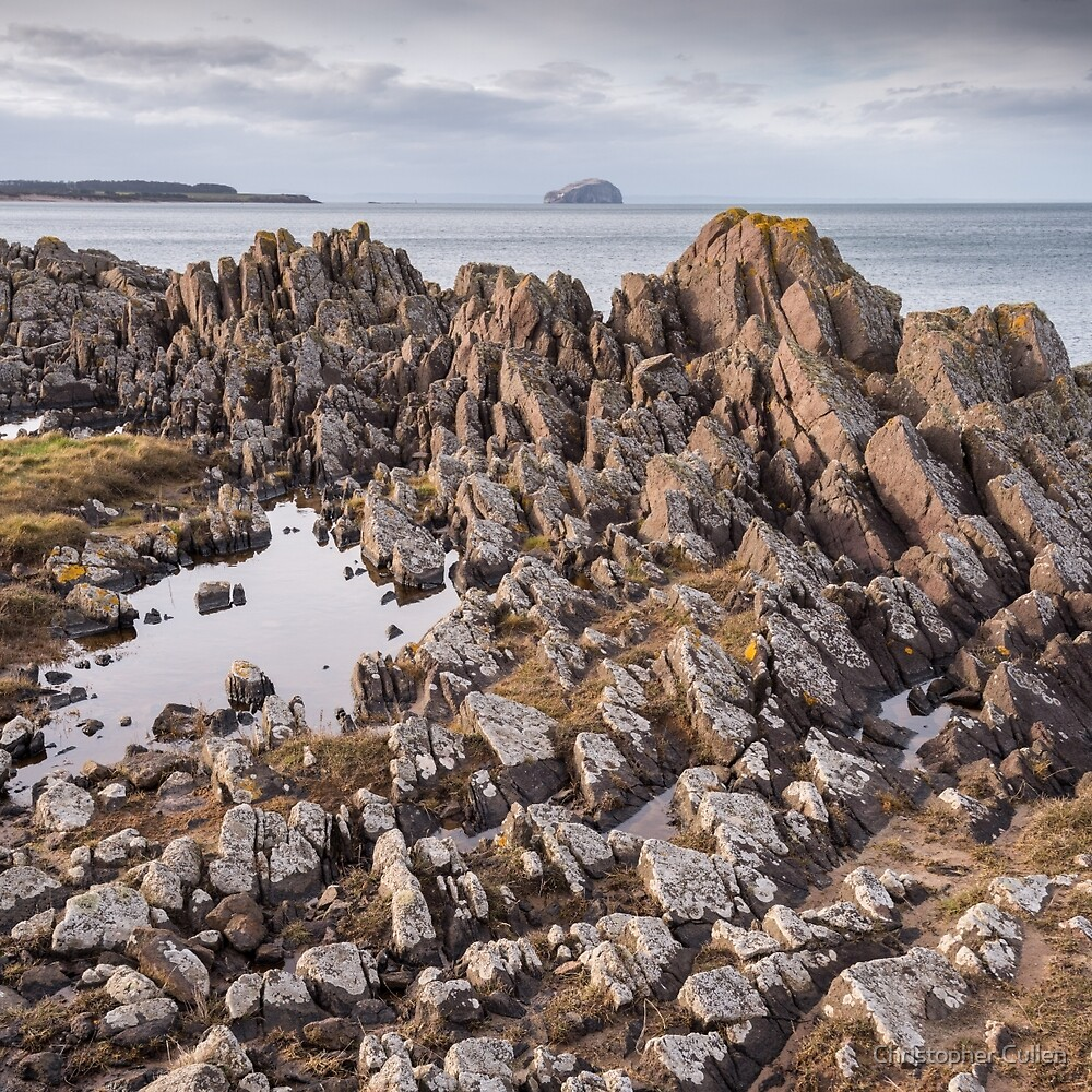 Bass View #2 - St Baldred by Christopher Cullen