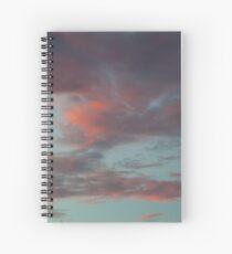 Pastel Clouds Spiral Notebook