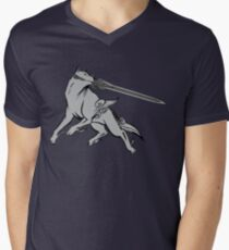 Great Gray Wolf Sif Men's V-Neck T-Shirt