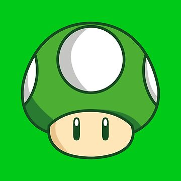 1 UP Shroom by Lauramazing