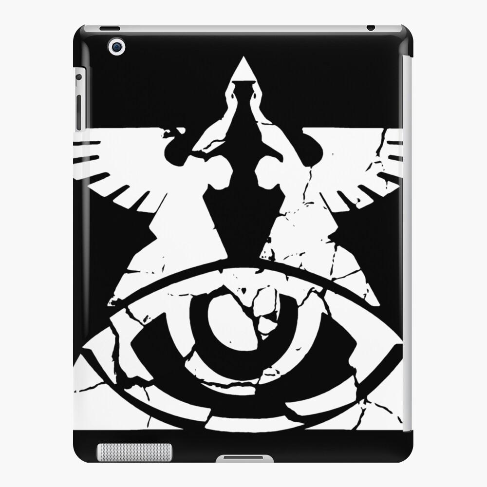 Gebrochenes Eden - schwarz und weiß iPad-Hülle & Skin