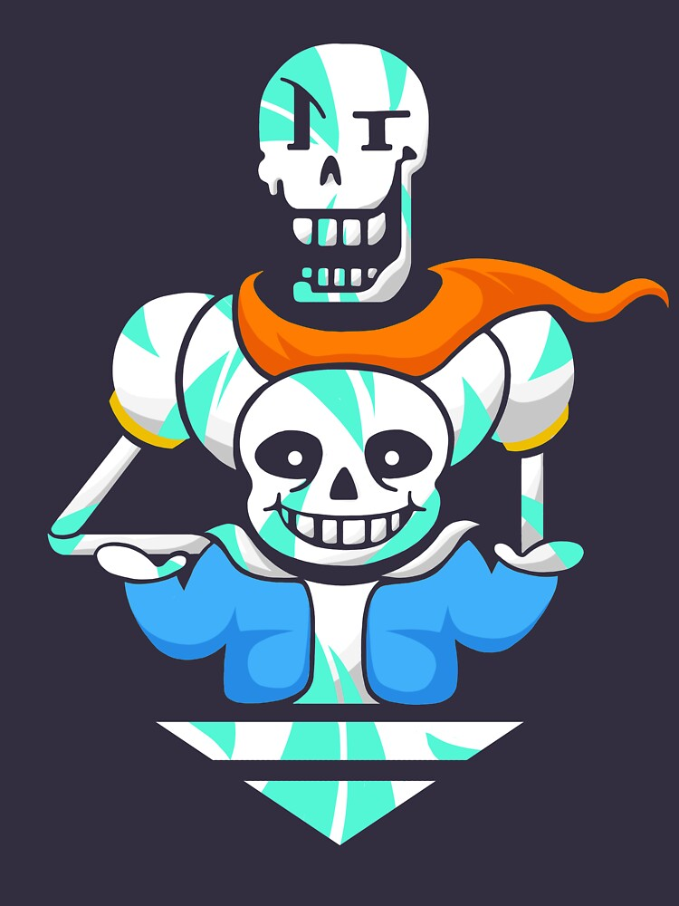 Sans and Papyrus Arrow by Noskii