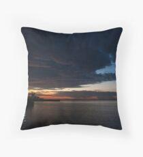 Sunrise 7 Throw Pillow