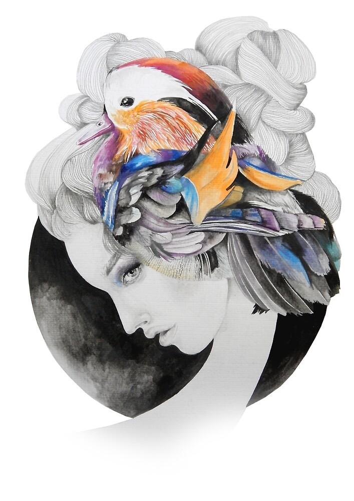 Mandarin Lady by demeterevelin